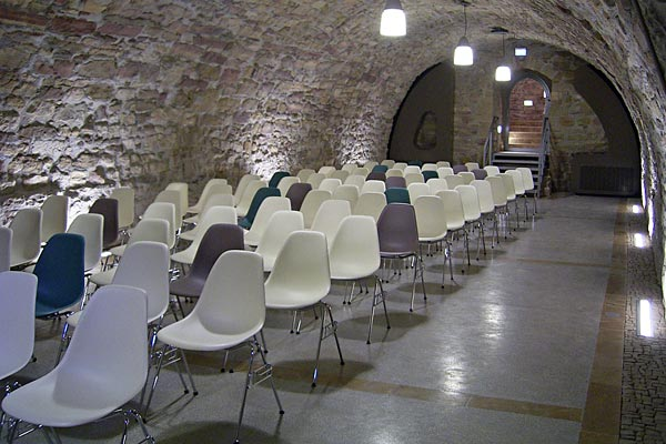 Gewölbekeller sanieren  Schloss Wiehe - Sanierung